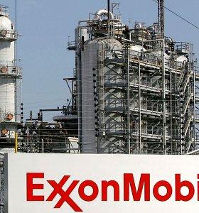 "Luizianoje po sprogimo ""Exxon Mobil"" naftos perdirbimo įmonėje kilo didelis gaisras"