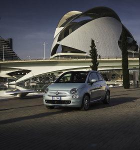 """Europoje pristatyti hibridiniai """"Fiat 500"""" modeliai: gamintojas atskleidė, kas laukia ateityje"""
