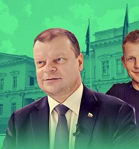 Neregimas S.Skvernelio padėjėjas: štabo reikalus tvarko Seimo nario sūnaus įmonės
