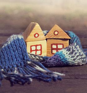 Vėsesnių orų banga: kaip užtikrinti didesnę šilumą namuose