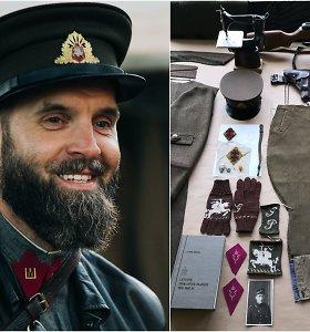 """G.Paulauskas apie baigiamą atkurti partizanų uniformą: """"Tie daiktai nesuguls po stiklu"""""""