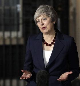 Britanijos premjerė vyks į Briuselį derybų dėl tolesnių ryšių su ES