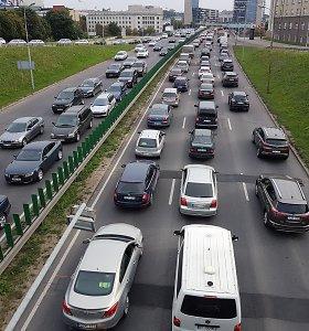 Vilnius privažiavo sankryžą: aiškinasi, kokiu keliu pasukti ir kaip suvaldyti eismo srautus?