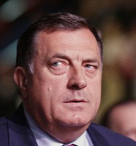 Bosnijos serbų lyderis neigia Srebrenicos žudynių mastą