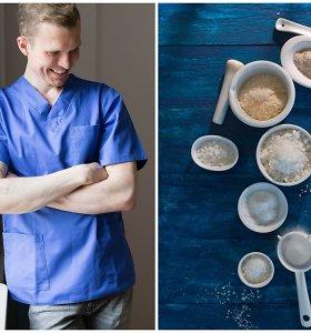 Dietologas E.Grišinas: jei valgomąją druską pakeitėte Himalajų, turite kai ką žinoti