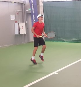 Ričardo Berankio pėdomis – Remigijus Balžekas augina naują teniso žvaigždę?