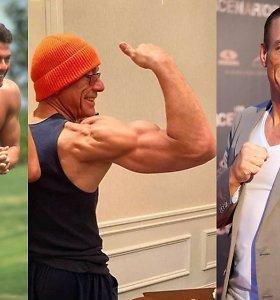 60-ies ir vis dar puikios fizinės formos: akių nuo Jeano-Claude'o Van Damme'o raumenų neatitrauksite