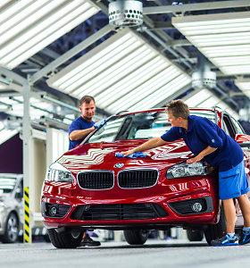 BMW ketina Kaliningrado srityje statyti automobilių surinkimo gamyklą