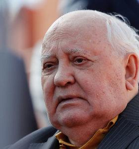 M.Gorbačiovas pagyrė G.H.W.Busho vaidmenį užbaigiant Šaltąjį karą