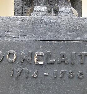 Kristijonas Donelaitis nebuvo paprastas kaimo kunigas, braidantis purvynuose