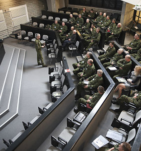 Lietuvos kariuomenėje rengiami karo komendantai, kurie veiktų karo padėties atveju