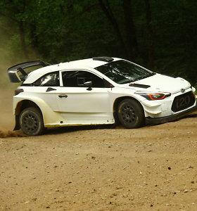 """""""Samsonas Rally Rokiškis"""" organizatoriai į Lietuvą priviliojo """"Hyundai Motorsport"""" WRC komandą"""