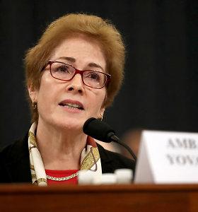 JAV demokratai prieš prezidento teismą Senate paskelbė naujų dokumentų
