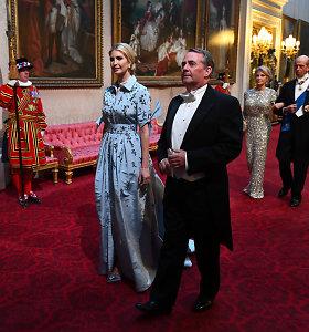Ivankos Trump apranga vizito Jungtinėje Karalystėje metu