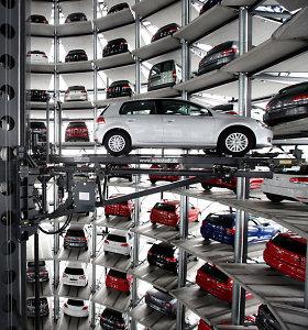 """""""Volkswagen"""" nauja gamykla Europoje gali tapti rimta """"Tesla"""" konkurente"""