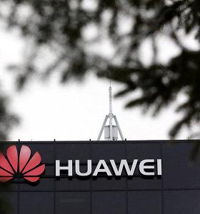 """JAV vykdo kriminalinį tyrimą dėl Kinijos bendrovės """"Huawei"""""""