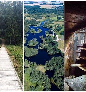 6 mažiau žinomi, bet labai ypatingi pažintiniai takai Lietuvoje