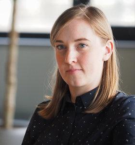 Metusi darbą komunikacijos srityje, tapo lietuvių kalbos mokytoja