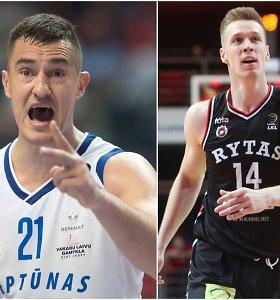 Po smūgio galva – skirtingos Simo Galdiko ir Martyno Echodo reakcijos rūbinėje