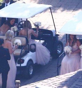 Chriso Pratto ir Katherine Schwarzenegger vestuvės