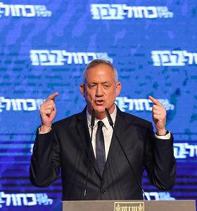 Izraelio parlamento pirmininku išrinktas B.Gantzas