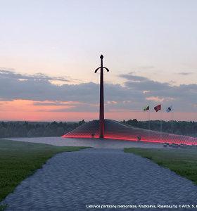 Raseinių savivaldybė iki rudens tikisi atidengti memorialą partizanams Kryžkalnyje