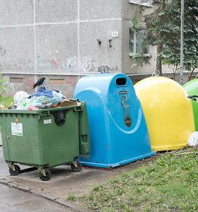 Drastiškai augant atliekų surinkimo kainai, jų išvežimo siūloma imtis Vilniaus savivaldybei