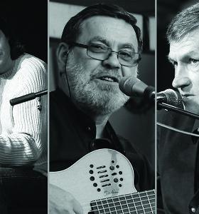 """""""Aktorių trio"""" surengs koncertą legendinėje """"Vaidilos"""" teatro salėje"""