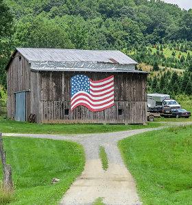 Kitokia Amerika ir joje tebevykstantys vėliavų karai
