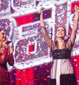 """""""Lietuvos balso"""" finale triumfavo ir 15 tūkst. eurų laimėjo Monika Marija Paulauskaitė"""