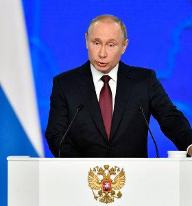 V.Putinas paskelbė apmokamą nedarbo savaitę