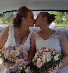 Lietuvos rinktinės žaidėja Švedijoje susituokė su savo išrinktąja