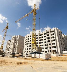 Estijos statybų sektorius trečiąjį ketvirtį susitraukė 12 proc.
