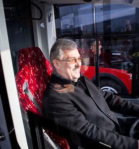 """""""Kauno autobusams"""" grįžta vadovauti po kilusio skandalo pats atsistatydinęs M.Grigelis"""