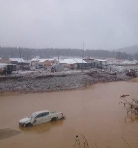 Rusijos Sibire griuvus užtvankai aukso kasykloje žuvo 13 žmonių
