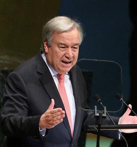 JT vadovas: pasaulis nepakankamai kovoja su klimato kaita