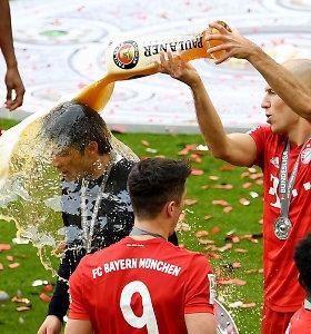 """Miuncheno """"Bayern"""" iškovojo Vokietijos auksą ir atsisveikino su dviem žvaigždėmis"""