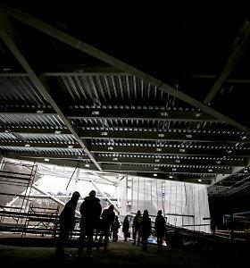 MO muziejaus atstovai pirmą kartą atvėrė naujojo pastato erdves