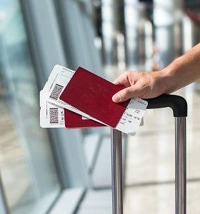 Londono oro uostas neįsileis žmonių be skrydžių bilietų