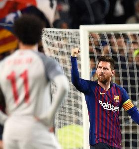 Su viena A.Wengero sąlyga: M.Salahas gali susilyginti su L.Messi