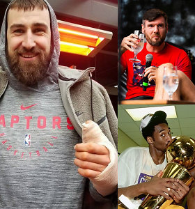 """""""Atsarginiai"""": brolių Lavrinovičių staigmena, J.Valančiūno atostogos ir geriausi NBA visų laikų duetai"""