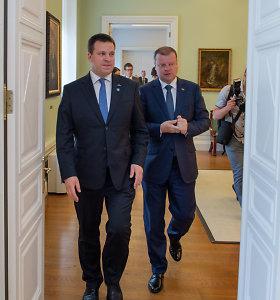 S.Skvernelis pasveikino vėl Estijos vyriausybei vadovausiantį J.Ratą