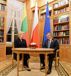 Dalia Grybauskaitė ir Lenkijos prezidentai