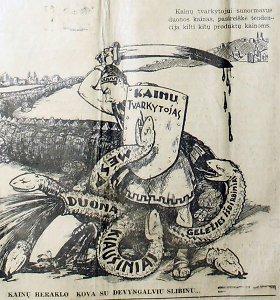 Kainų karą paskelbęs S.Skvernelis neišrado nieko naujo: tos pačios bėdos kamavo tarpukariu
