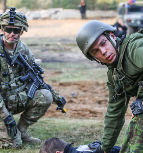 Greitojo reagavimo pajėgos pietų Lietuvoje treniruosis reaguoti į hibridinius išpuolius