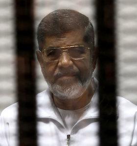 Iranas pareiškė užuojautą Egiptui dėl eksprezidento M.Morsi mirties