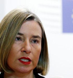 F.Mogherini ragina nelaikyti įvykių Sirijoje geopolitiniu žaidimu
