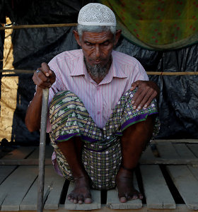 Jungtinės Tautos ragina Mianmarą išspręsti rohinjų krizę