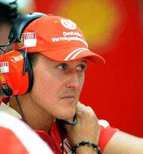 50-mečio laukiantis M.Schumacheris, atrodo, pasiekė svarbiausią savo pergalę: koks jis buvo lenktynininkas