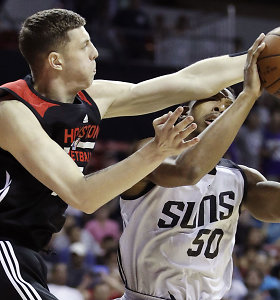 """NBA žvaigždės jėgą išvydęs """"Žalgirio"""" talentas siunčia žinią Šarūnui Jasikevičiui"""